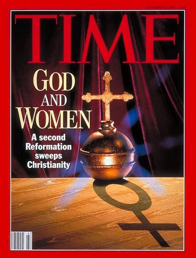 TIME Magazine Cover: God & Women -- Nov. 23, 1992