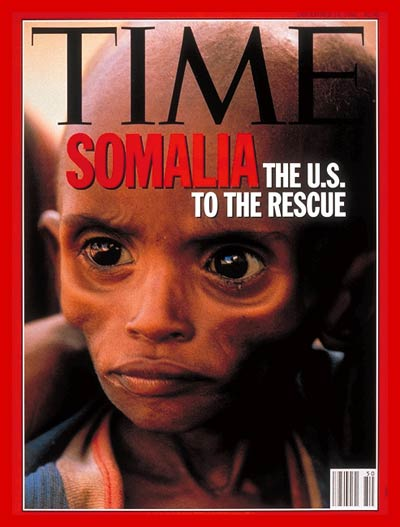 TIME Magazine Cover: Somalia's Agony -- Dec. 14, 1992