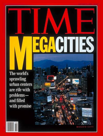 TIME Magazine Cover: Problems of Megacities -- Jan. 11, 1993