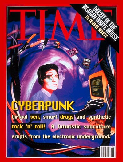 Electronic artists & hackers called Cyberpunks.