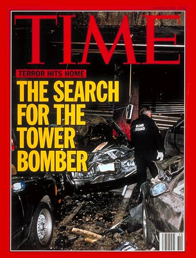 TIME Magazine Cover: World Trade Center Bombing -- Mar. 8, 1993