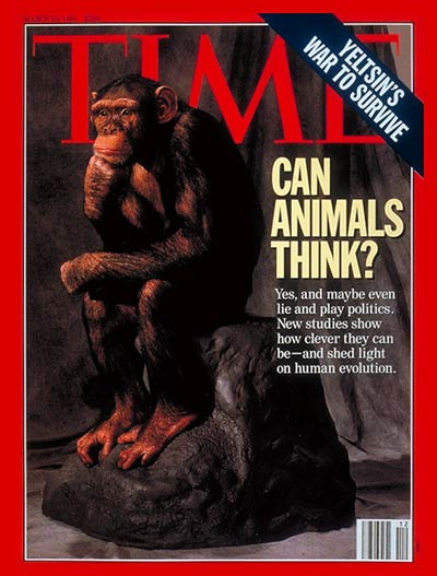 TIME Magazine Cover: Can Animals Think? -- Mar. 22, 1993