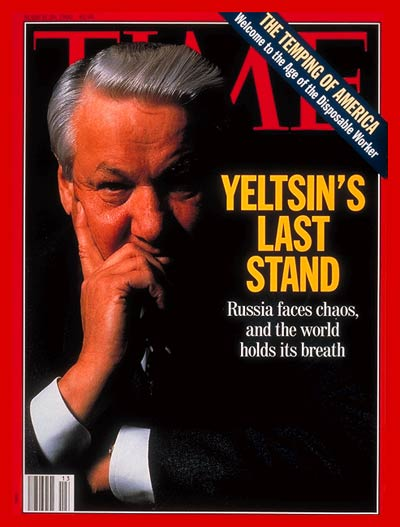 TIME Magazine Cover: Boris Yeltsin -- Mar. 29, 1993