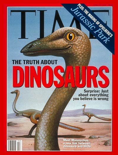 TIME Magazine Cover: Dinosaurs -- Apr. 26, 1993