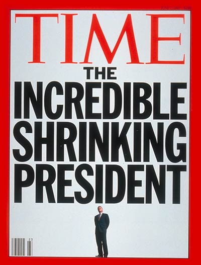TIME Magazine Cover: Bill Clinton on the Decline -- June 7, 1993