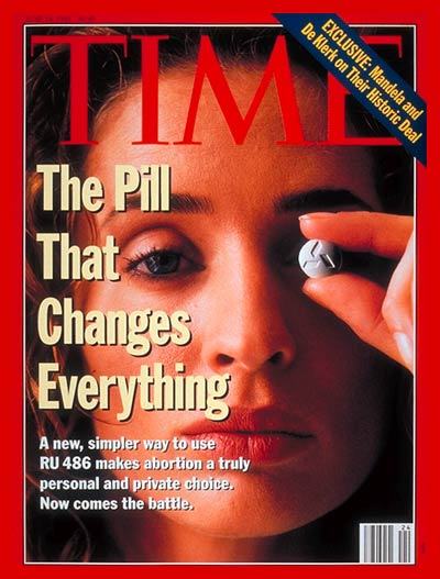 TIME Magazine Cover: RU 486: Birth Control -- June 14, 1993