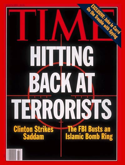 TIME Magazine Cover: Striking at Terrorism -- July 5, 1993