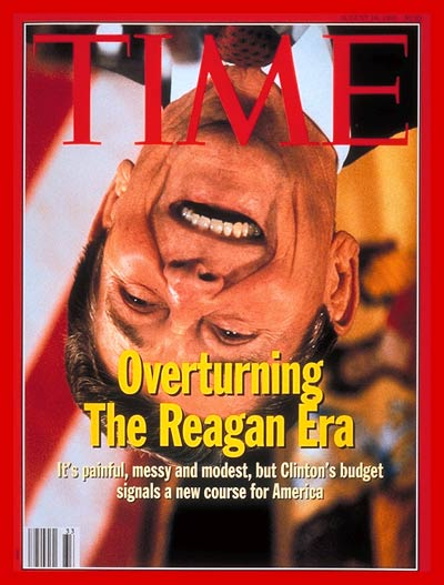 TIME Magazine Cover: Overturning Reaganomics -- Aug. 16, 1993