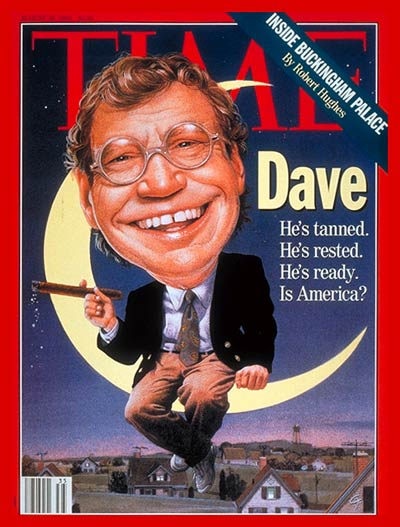 TIME Magazine Cover: David Letterman -- Aug. 30, 1993