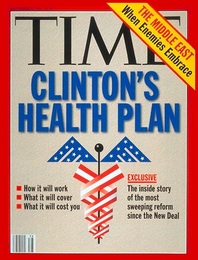 TIME Magazine Cover: Clinton's Health Plan -- Sep. 20, 1993