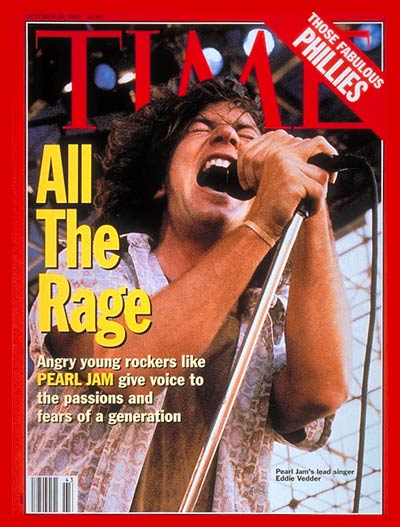 TIME Magazine Cover: Pearl Jam's Eddie Vedder -- Oct. 25, 1993