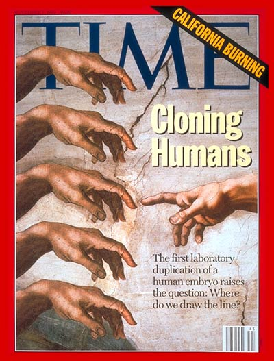 TIME Magazine Cover: Cloning Humans -- Nov. 8, 1993