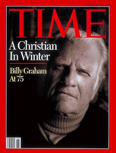 Christian Evangelist Billy Graham