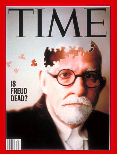 Photo illustration of Sigmund Freud for TIME by Matt Mahurin based on a photograph from the Granger Collection.