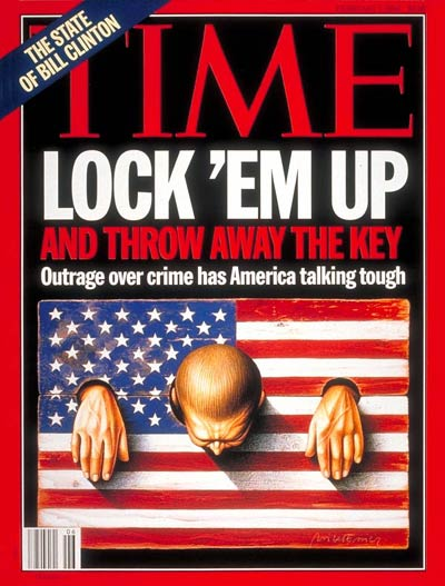 TIME Magazine Cover: Tough on Crime -- Feb. 7, 1994