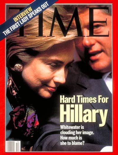 TIME Magazine Cover: Hillary Rodham and Bill Clinton -- Mar. 21, 1994