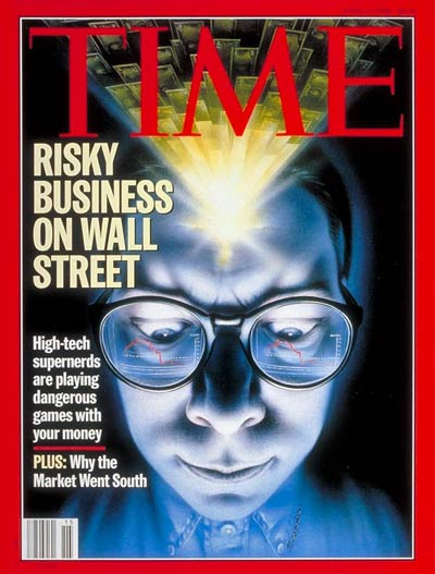 RiskyBusiness on Wall Street.
