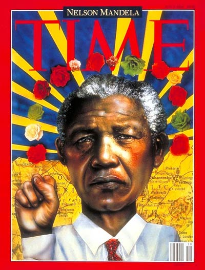 TIME Magazine Cover: Nelson Mandela -- May 9, 1994