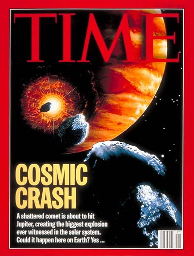 A Cosmic Crash