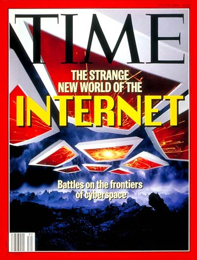 TIME Magazine Cover: The Internet -- July 25, 1994