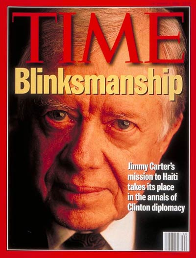 TIME Magazine Cover: Jimmy Carter -- Oct. 3, 1994