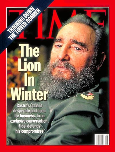 TIME Magazine Cover: Fidel Castro -- Feb. 20, 1995