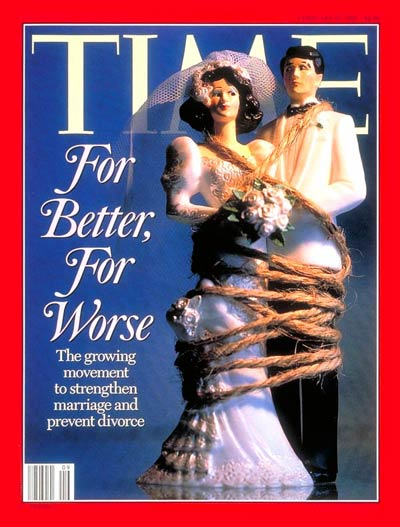TIME Magazine Cover: Strengthening Marriages -- Feb. 27, 1995