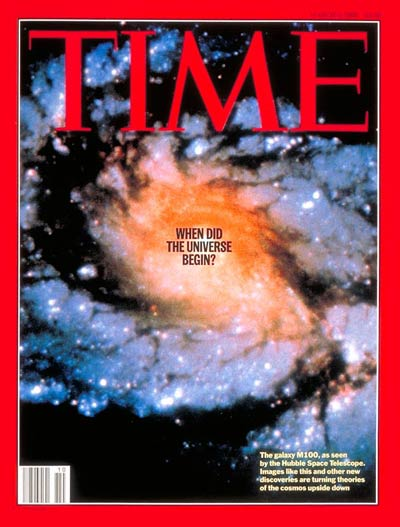 TIME Magazine Cover: When Did the Universe Begin? -- Mar. 6, 1995