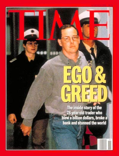 TIME Magazine Cover: Nicholas Leeson -- Mar. 13, 1995