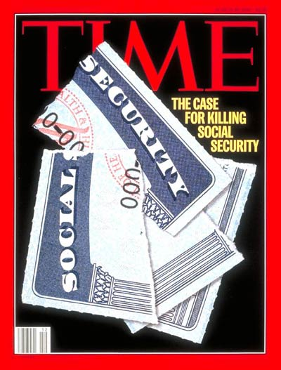 TIME Magazine Cover: Social Security -- Mar. 20, 1995