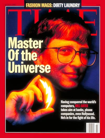TIME Magazine Cover: Bill Gates -- June 5, 1995