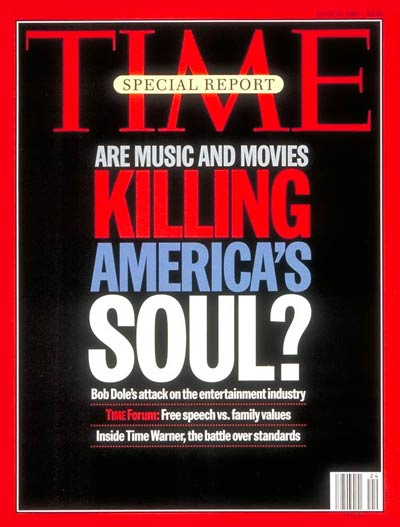 Are music and movies killing America's soul?