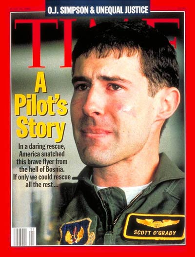 TIME Magazine Cover: Captain Scott O'Grady -- June 19, 1995