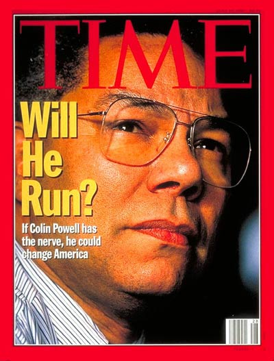 TIME Magazine Cover: Colin Powell -- July 10, 1995