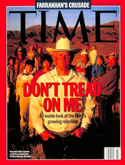 Rebellion against the U.S. Forest Service by western citizens, rancher Dick Carver  & others.