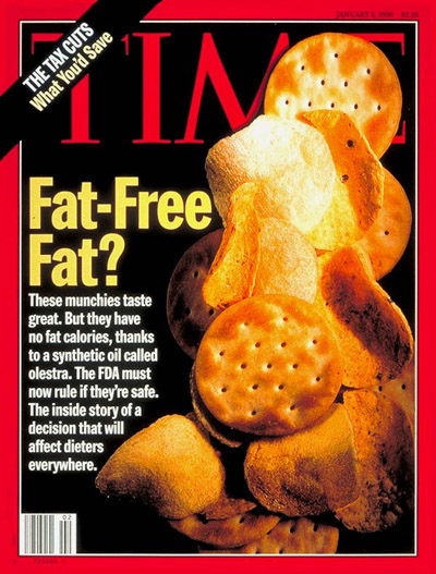 TIME Magazine Cover: Fat-Free Fat -- Jan. 8, 1996