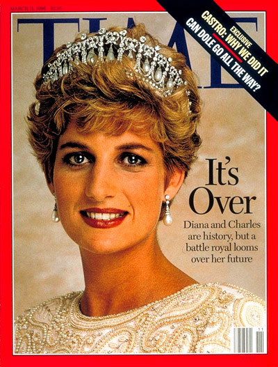 TIME Magazine Cover: Princess Diana -- Mar. 11, 1996