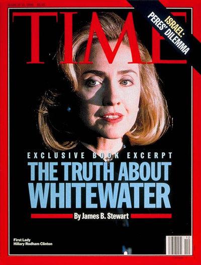 TIME Magazine Cover: Hillary Rodham Clinton -- Mar. 18, 1996
