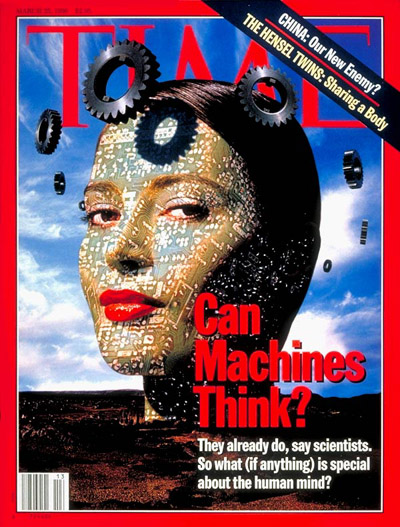 TIME Magazine Cover: Can Machines Think? -- Mar. 25, 1996