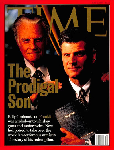 TIME Magazine Cover: Billy and Franklin Graham -- May 13, 1996
