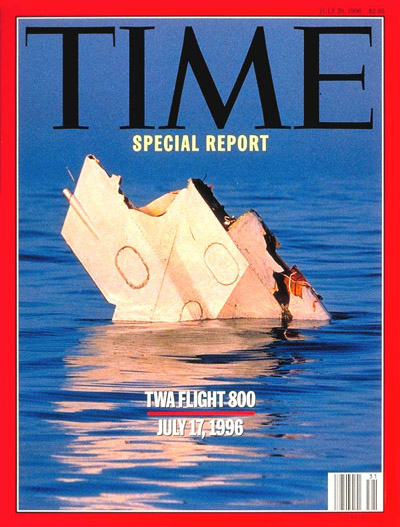 TIME Magazine Cover: TWA Flight 800 -- July 29, 1996
