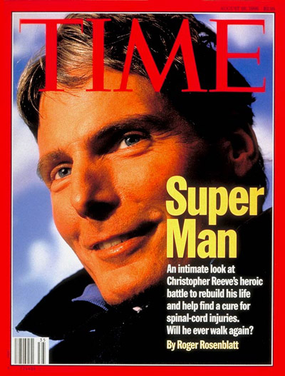 TIME Magazine Cover: Christopher Reeve -- Aug. 26, 1996
