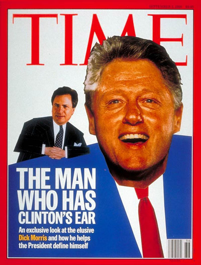 TIME Magazine Cover: Dick Morris, Bill Clinton -- Sep. 2, 1996
