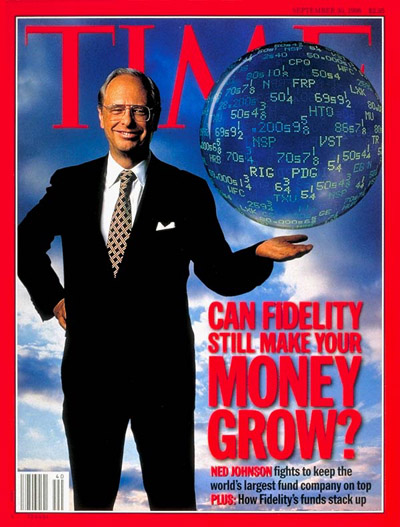 TIME Magazine Cover: Ned Johnson -- Sep. 30, 1996