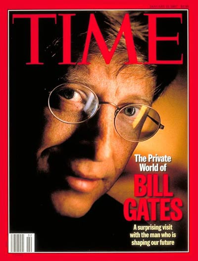 TIME Magazine Cover: Bill Gates -- Jan. 13, 1997