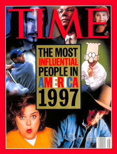 TIME Magazine Cover: America's 25 Most Influential People -- Apr. 21, 1997