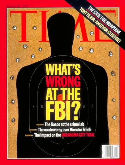 TIME Magazine Cover: What's Wrong With the FBI? -- Apr. 28, 1997