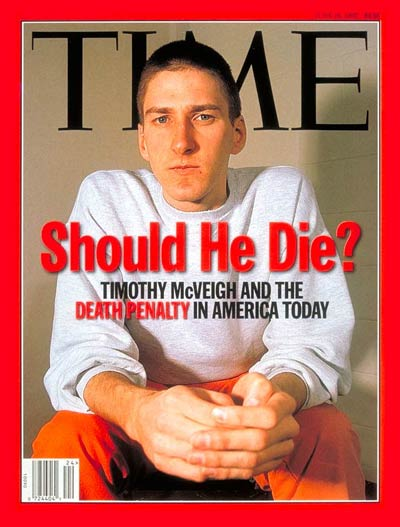 TIME Magazine Cover: Timothy McVeigh -- June 16, 1997
