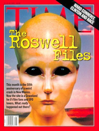 50th anniversary of the the Roswell crash.