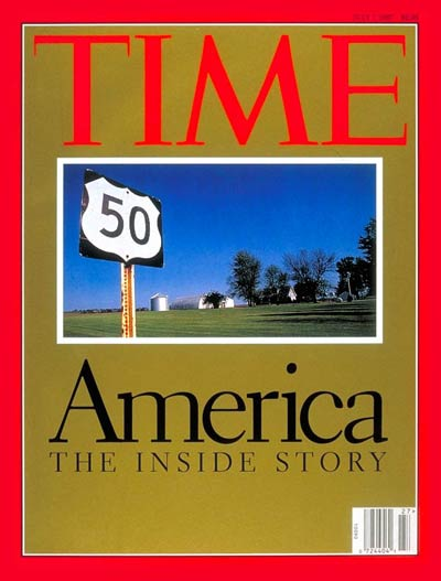 TIME Magazine Cover: America - The Inside Story -- July 7, 1997
